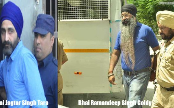 Bhai Jagtar Singh Tara & Ramandeep Singh Goldy Attend Court Hearing