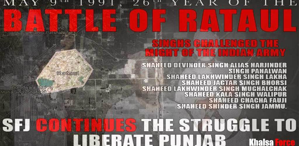 May 9th 1991   The Battle of Rataul Singh Challenged The Might Of The Indian Army   72 hours