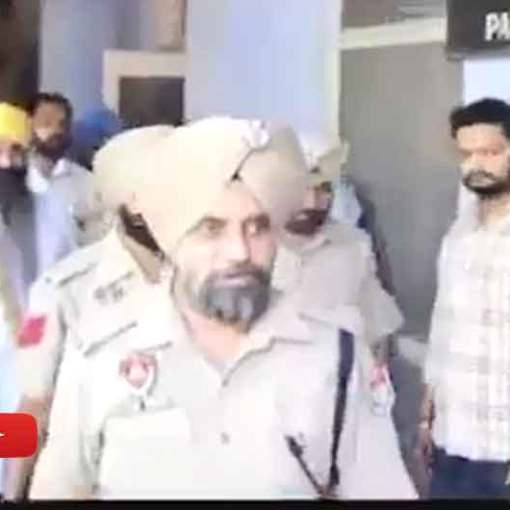 Bhai Balwant Singh Rajoana Ji Was Brought to Rajindra Hospital by Patiala police