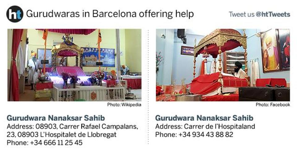 Barcelona Terror Attack | Sikh Community Rallies To Help | Police Gun Down 5 Terrorists | 13 killed and 100 injured