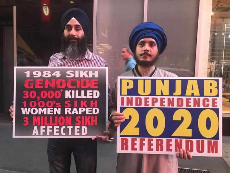 Protest | 1984 Anti-Sikh Violence Chases Rahul Gandhi In New York