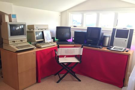 macintosh protypes in Hap Plain's house