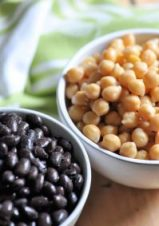 chick peas and beans khalsa labs high protein vegan wrap