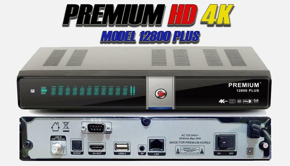 جديد جهاز PREMIUM-HD 12800 PLUS 4K
