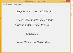 Sunplus Loader 1.5.2.04