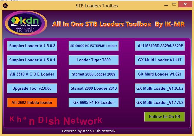 Stb Loader toolbox