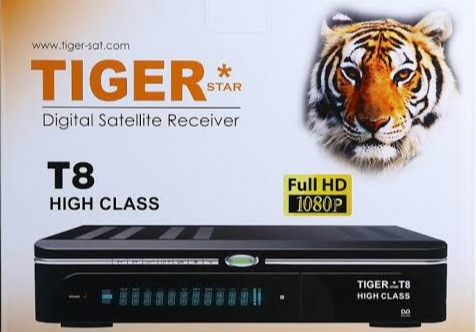 Tiger t8 High Class new software