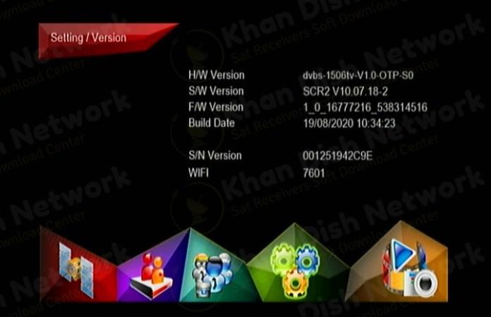 Ferrarri 888+ 1506tv Software