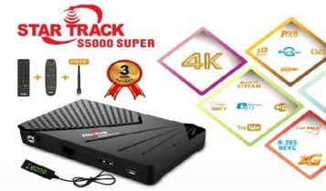 Star Track HDboX s5000 Super software