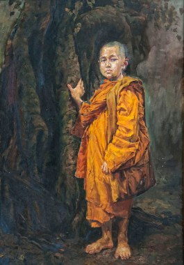 The monk I - 2010 - oil on canvas