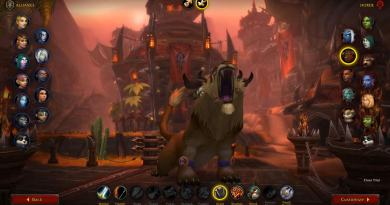 WoW Shadowlands Beta Class Animations - Highmountain Tauren Female