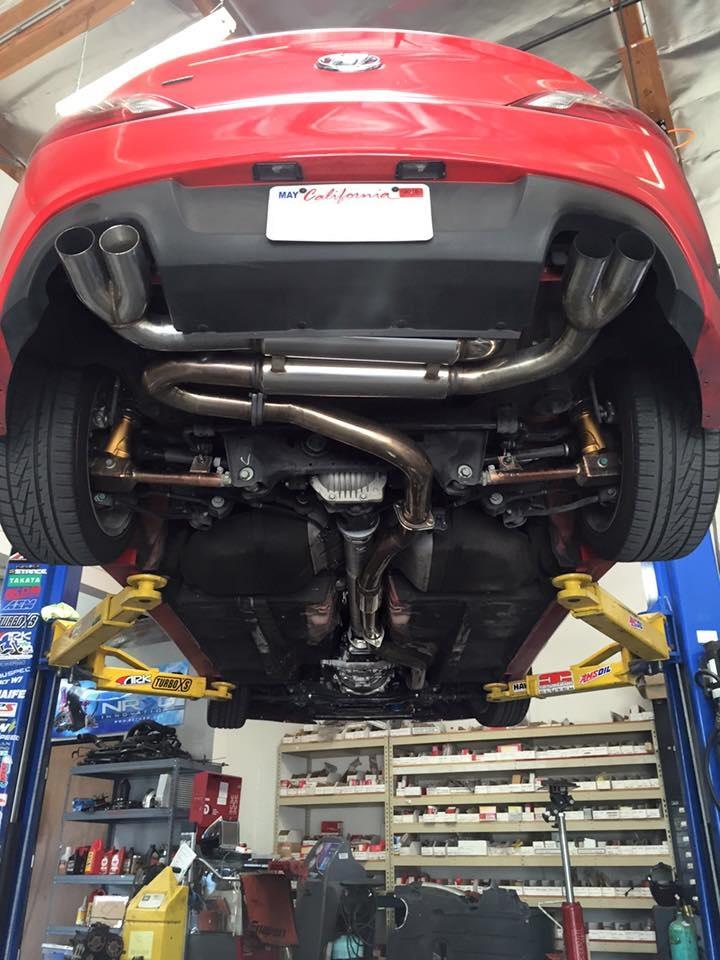 Exhaust Gasket Installation