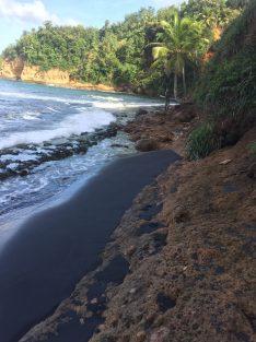 Calibishie Black Sand Beach