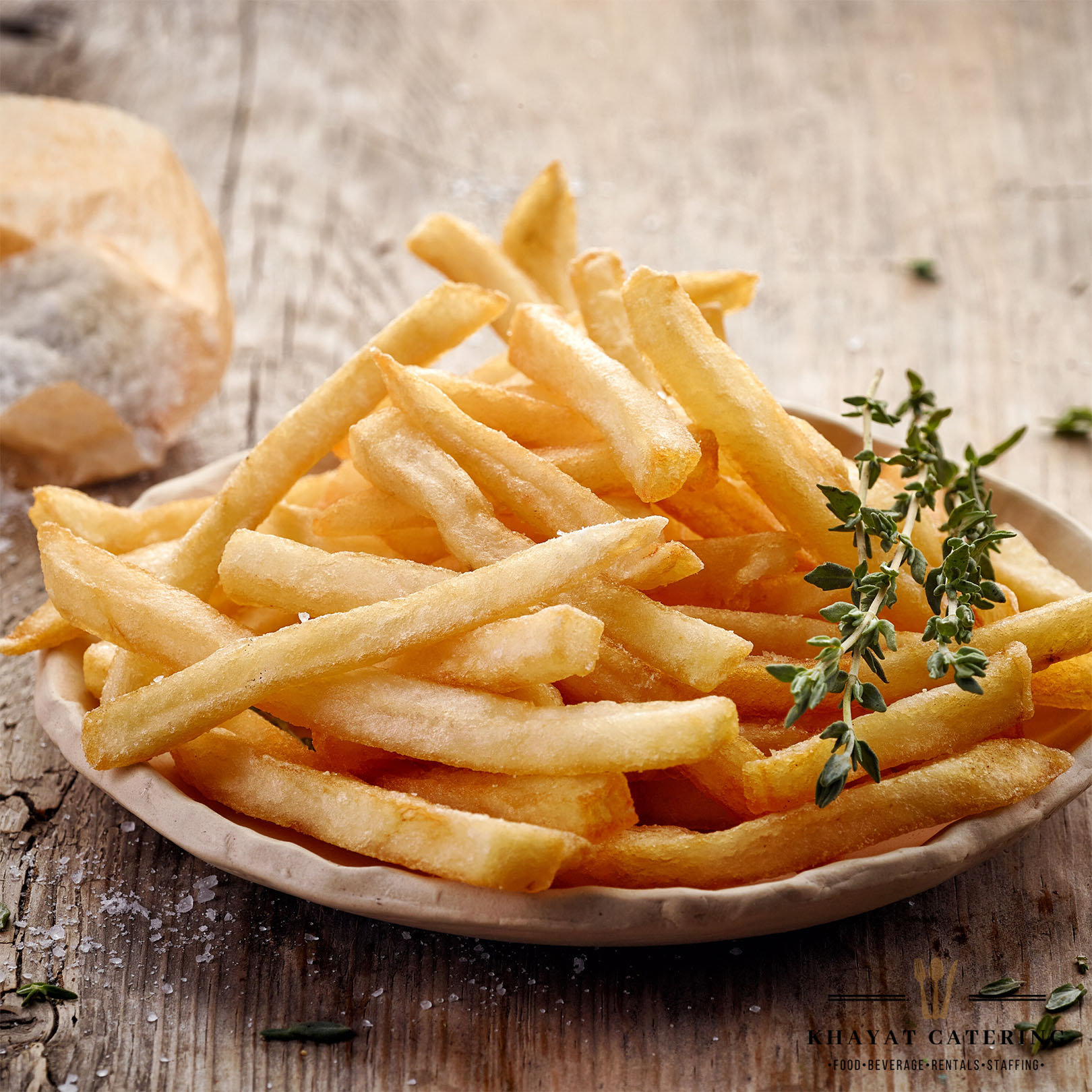 Khayat Catering French fries