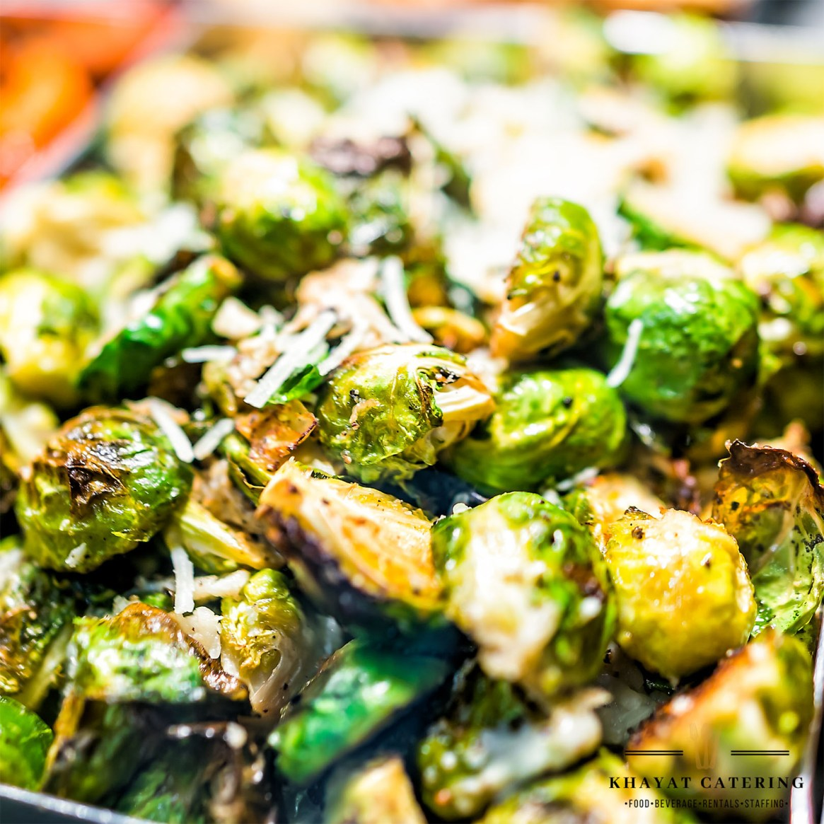 Khayat Catering Roasted Brussels sprouts