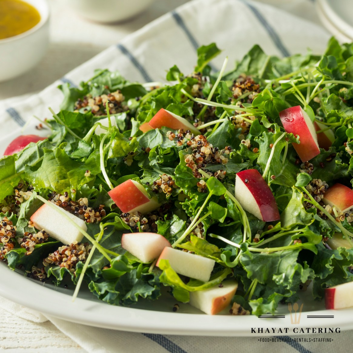 Khayat Catering apple pecan salad