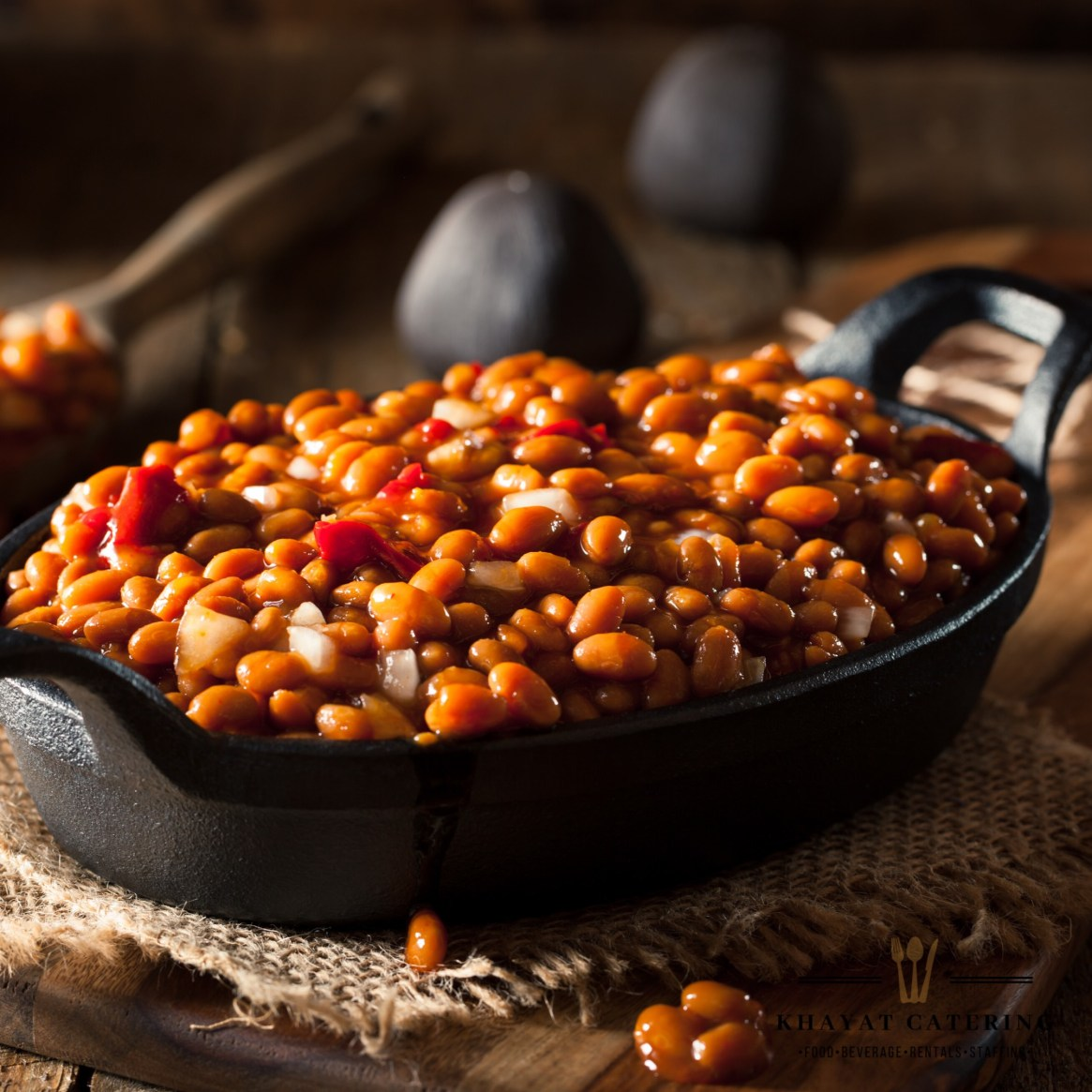 Khayat Catering baked beans
