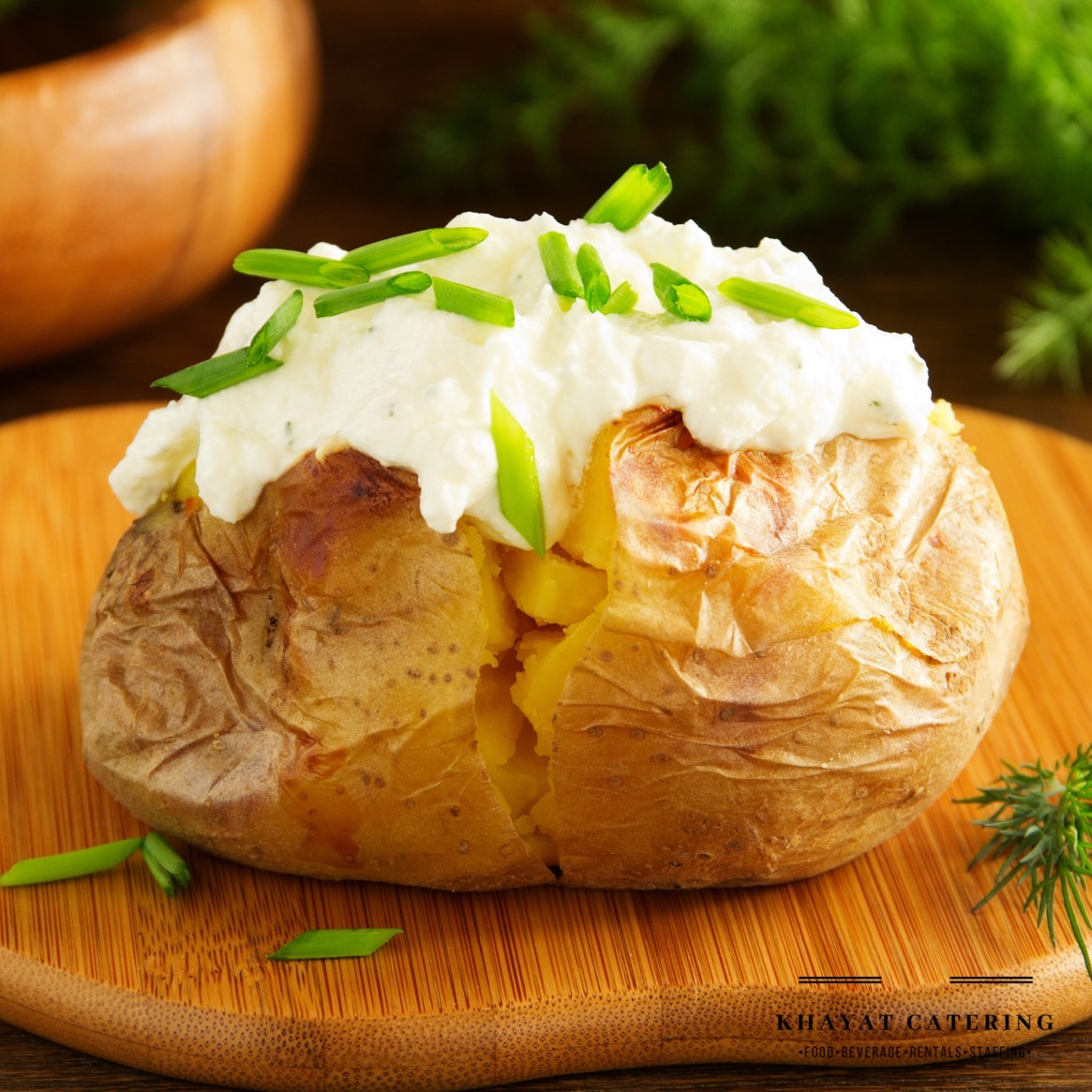 Khayat Catering baked potato