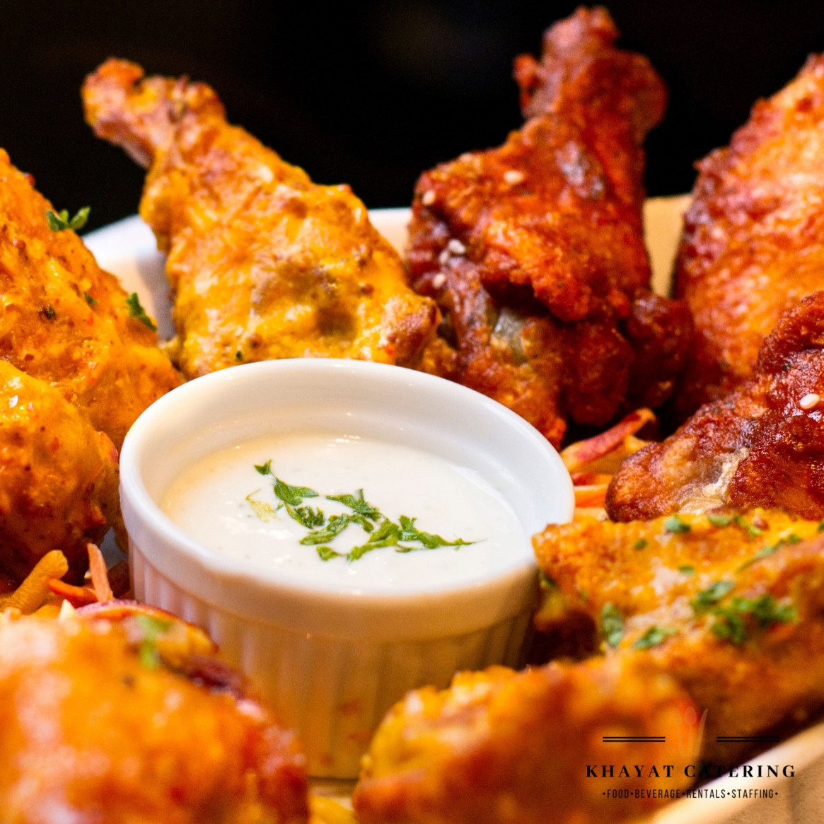 Khayat Catering chicken wings