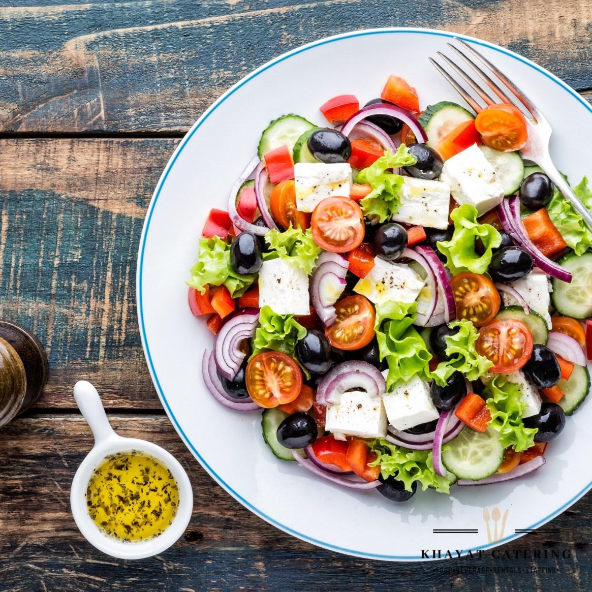 Khayat Catering greek salad
