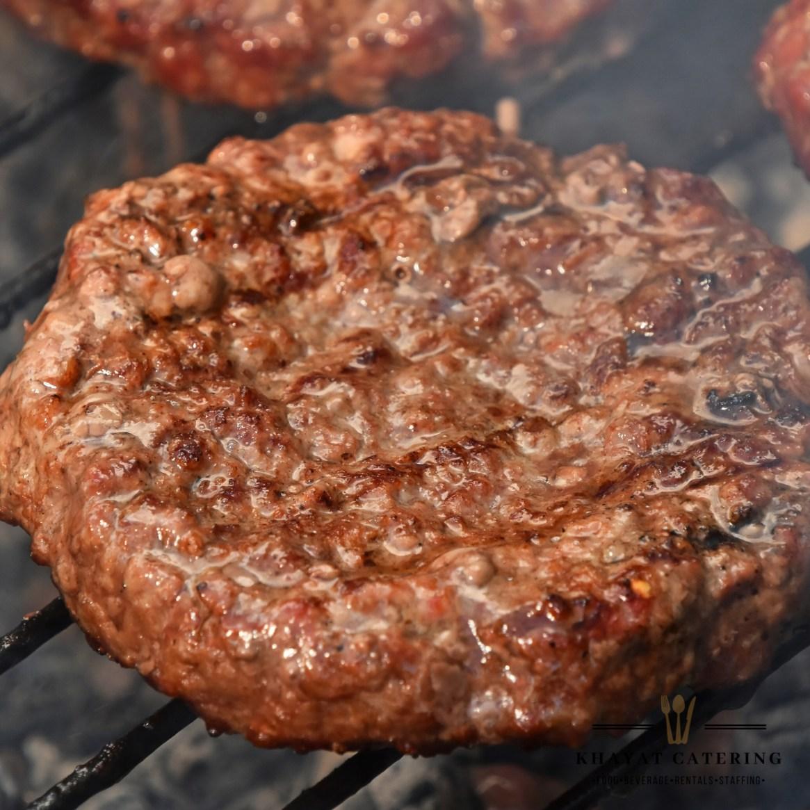 Khayat Catering hamburger