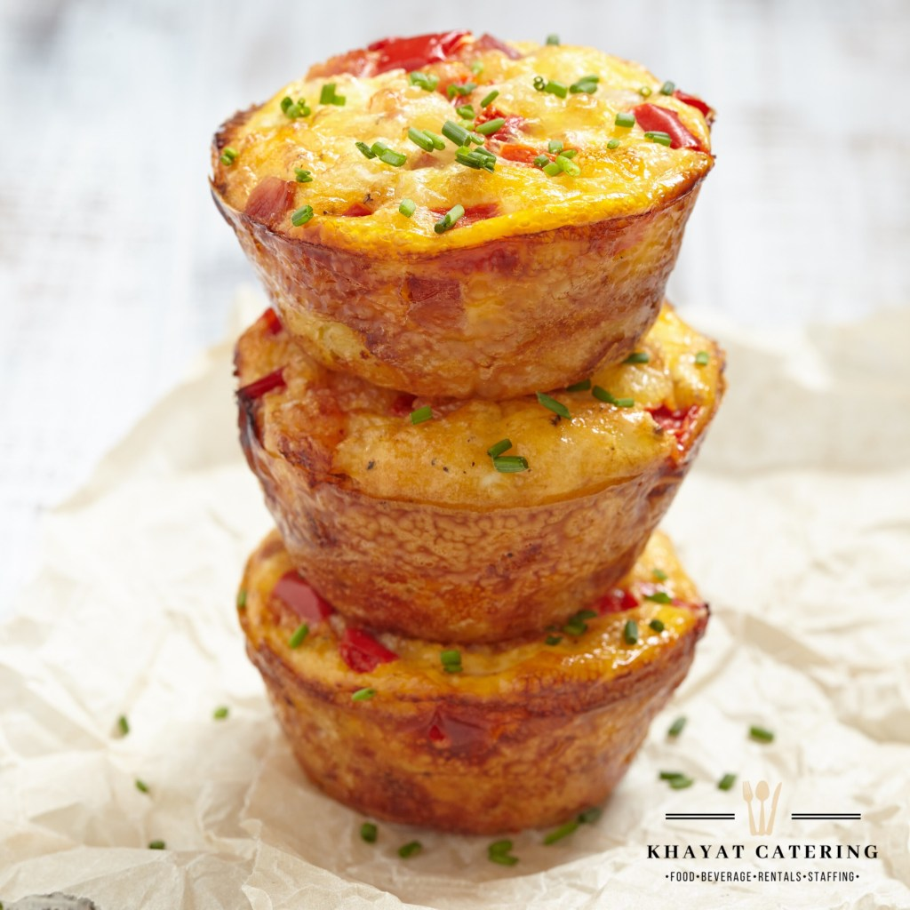 Khayat Catering quiche poppers