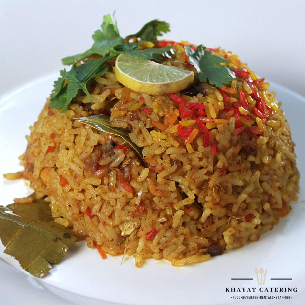 Khayat Catering spanish rice
