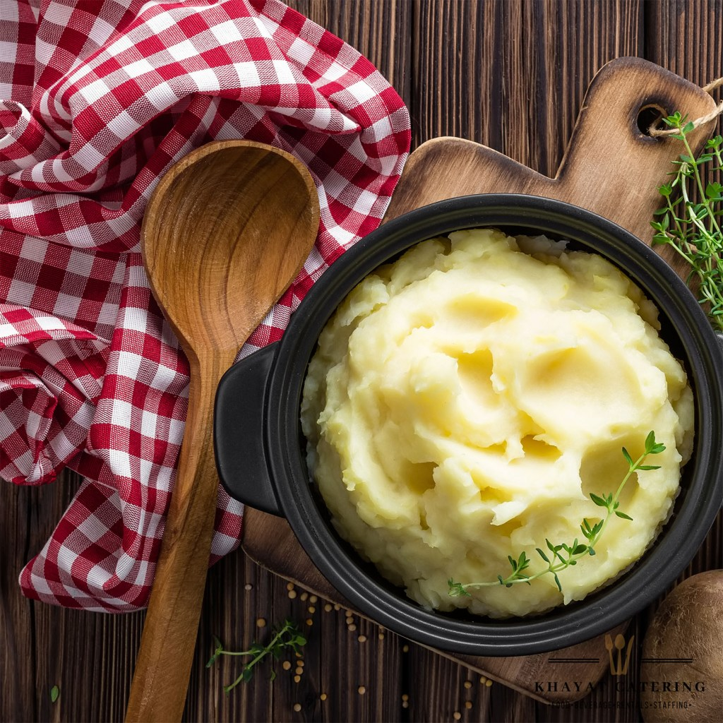 Khayat Catering truffle mashed potatoes