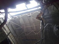 bodytextimage_damaged ceiling - from state nuclear regulatory inspectorate