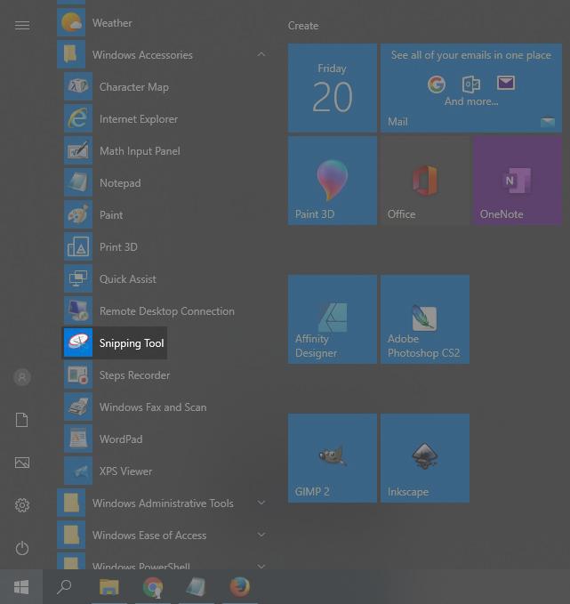 Cara screenshot di komputer menggunakan snipping tool