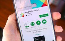 Layanan Google Play terhenti