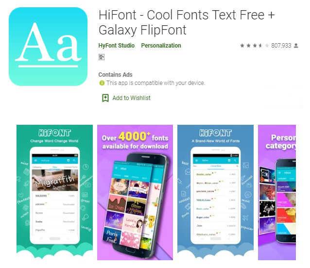cara menambah font android tanpa aplikasi