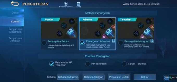 pengaturan kontrol mobile legends