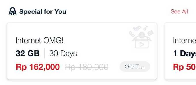 special for you my telkomsel