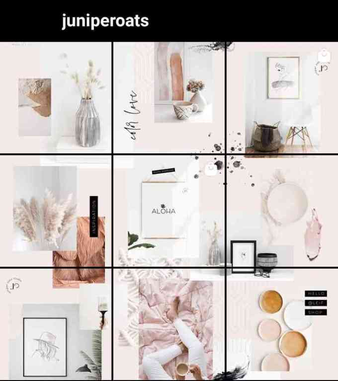 instagram feed puzzle ideas