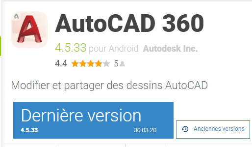 AutoCAD 360 on Play Store
