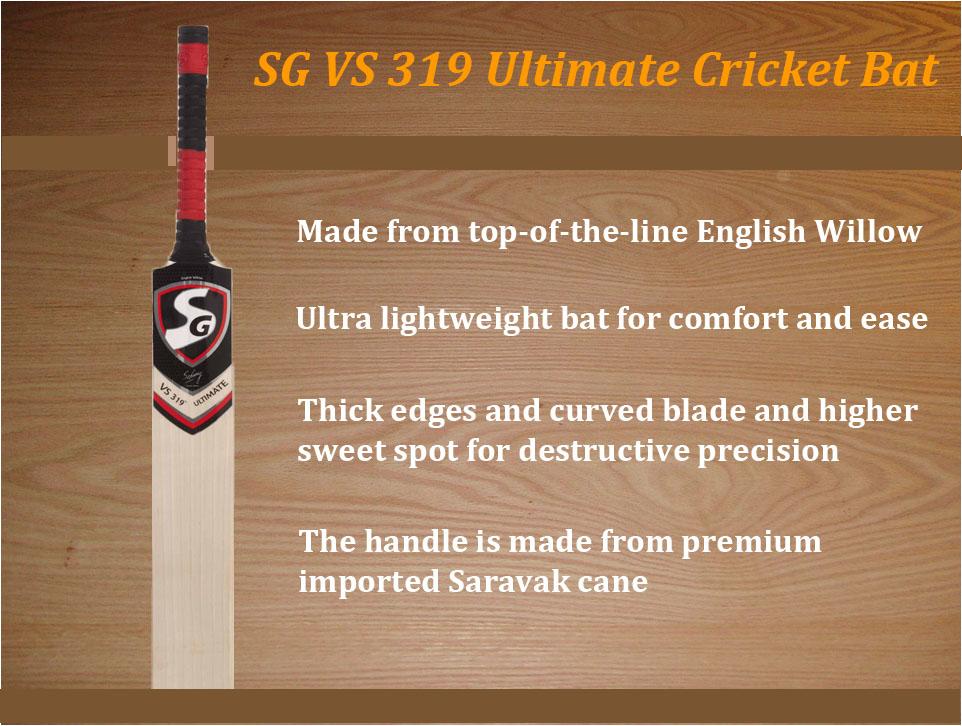 SG VS 319 Ultimate Cricket Bat