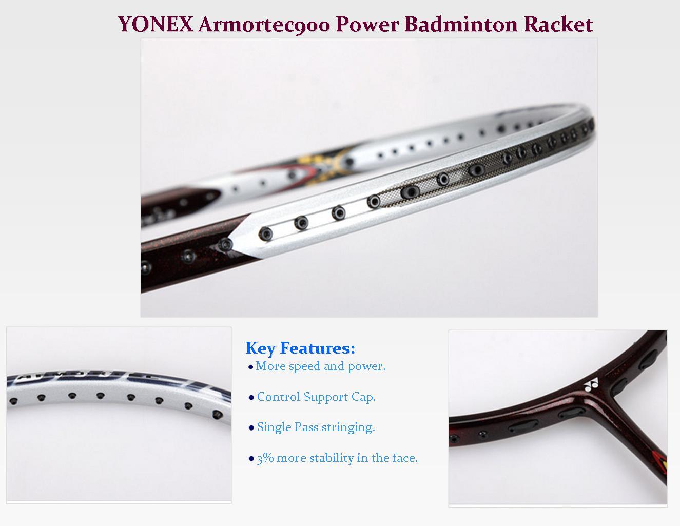 YONEX Armortec 900 Power and its Technology   khelmart ...