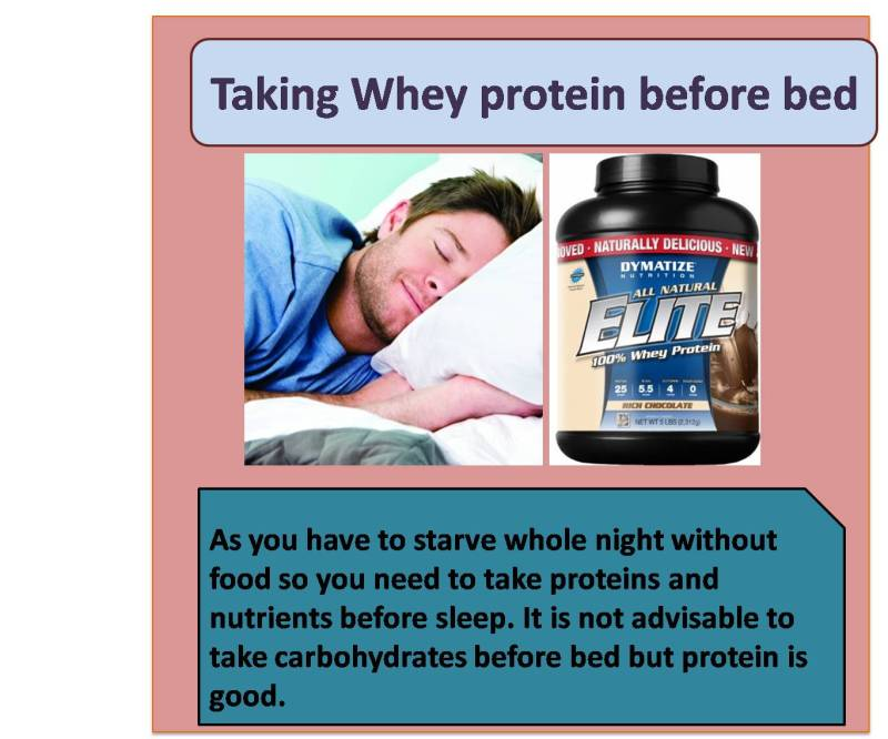 Whey Protein After Workout Or Before Bed Workout