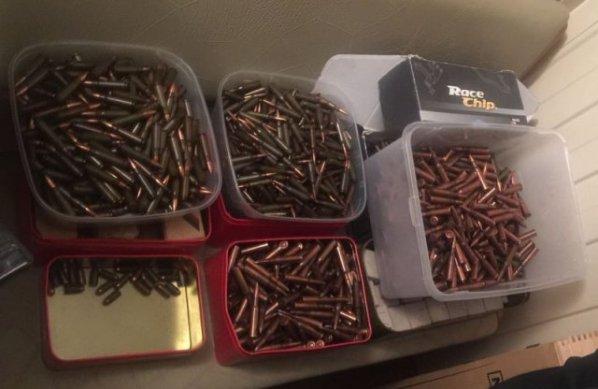 На Херсонщине полицейские изъяли арсенал боеприпасов у жителя областного центра