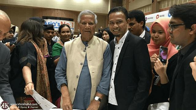Professor Yunus, Khir Khalid, Perunding Pembangunan Insan,