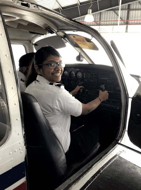 Vanisthaa Shanmuga Nathan, A Young Pilot's Journey To Achieving Her Aviation Dream,