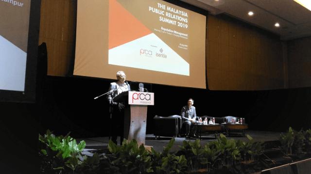 Mengurus Reputasi Dalam Landskap Media Era Digital, Malaysia PR Summit 2019, Datuk A Kadir Jasin,