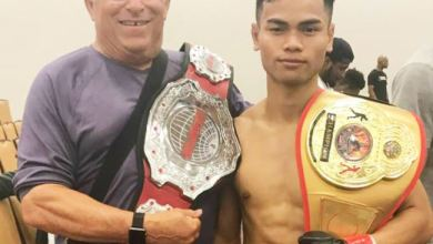Photo of Montagnard Refugee Becomes MMA Fighter in US