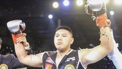 Photo of Cambodian boxer claims WBA Asia belt Eric Pen