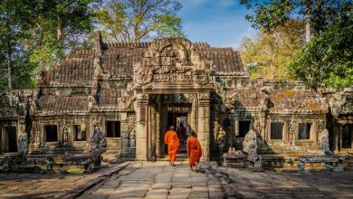 Photo of Int'l arrivals to Cambodia's famed Angkor down 9.67 pct in first 7 months