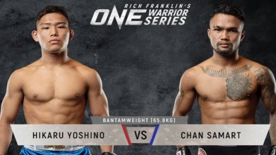 Photo of Hikaru Yoshino vs. Chan Samart | ONE Warrior Series 8