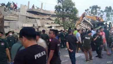 Photo of 7 workers die, 20 hurt in Cambodian building collapse