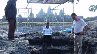 Photo of Ancient Wooden Hindu Site Found Near Angkor Wat