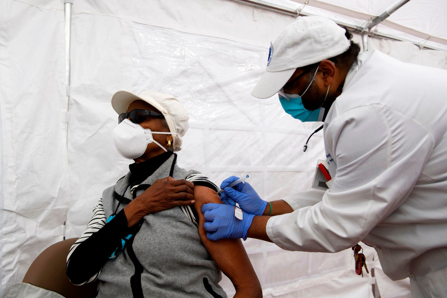 As Vaccine Rollout Expands, Black Americans Still Left Behind 1/30/21